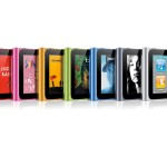 Apple 6th Gen iPod Nano with full touch-screen