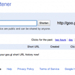 Google officially launches goo.gl URL shortener