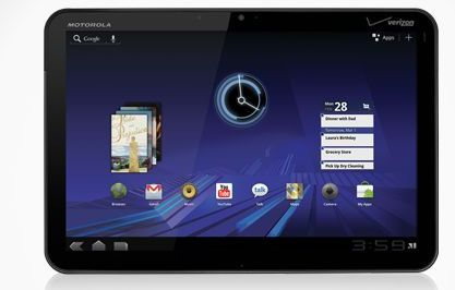 Motorola XOOM tablet