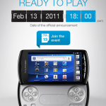 Sony Ericsson announces XperiaPlay launch date